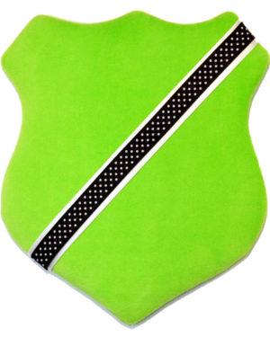 Märkessköld - Ljusgrön med prickar